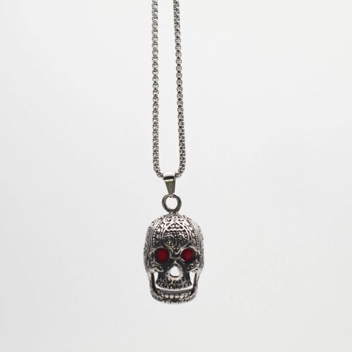 Vieux Skull Silver